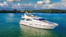 Lavish Ferretti 73' available for charter in New York