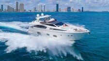 80' Ferretti Modern, stylish yacht!