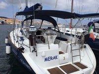 Enjoy luxury and comfort on this Beneteau Oceanis 411 in Carloforte