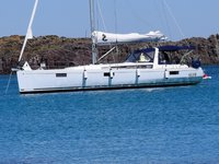 Sail Cagliari, IT waters on a beautiful Beneteau Oceanis 48