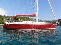 All you need to do is relax and have fun aboard the Delphia Yachts Delphia 40