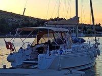 Hop aboard this amazing sailboat rental in Sukošan!