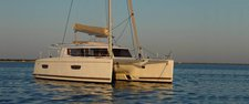 Climb aboard elegant Helia 44 to explore USVI