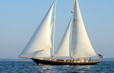 Cruise in style in New York aboard the classic 80' Schooner