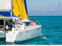 Sail Murter, HR waters on a beautiful Lagoon Lagoon 39