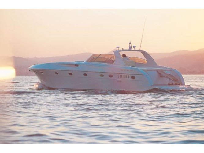 Explore Pescara on this beautiful motor boat for rent