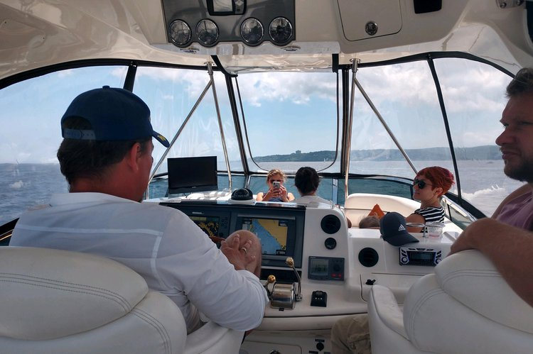Boating is fun with a Motor yacht in Gerritsen Beach