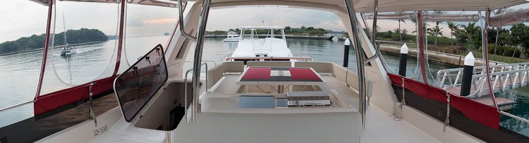 Catamaran boat rental in Kepple Bay,