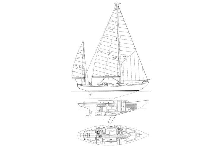 Regatta-cruiser's 40.0 feet in ibiza