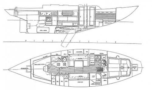 This 40.0' Regatta-cruiser cand take up to 6 passengers around ibiza