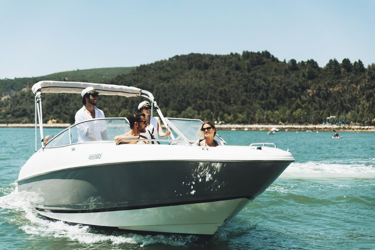 Motor yacht boat rental in setubal, Portugal