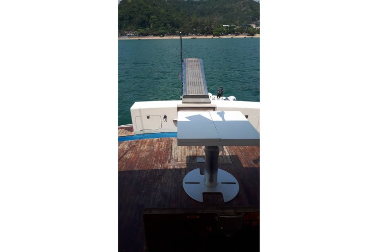Boating is fun with a Mega yacht in Ao Nang