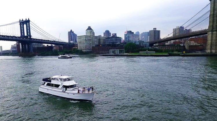 Mega yacht boat rental in Liberty Harbor Marina, NJ