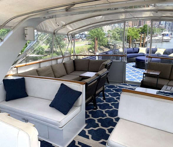 Boating is fun with a Mega yacht in Jersey City