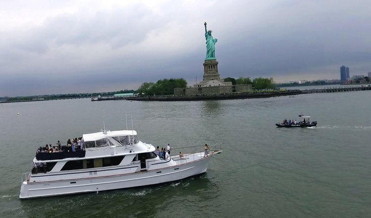 NYC area Luxury Yacht - certified for up to 40 guests!