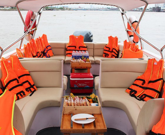 Discover Ho Chi Minh surroundings on this Custom Custom boat