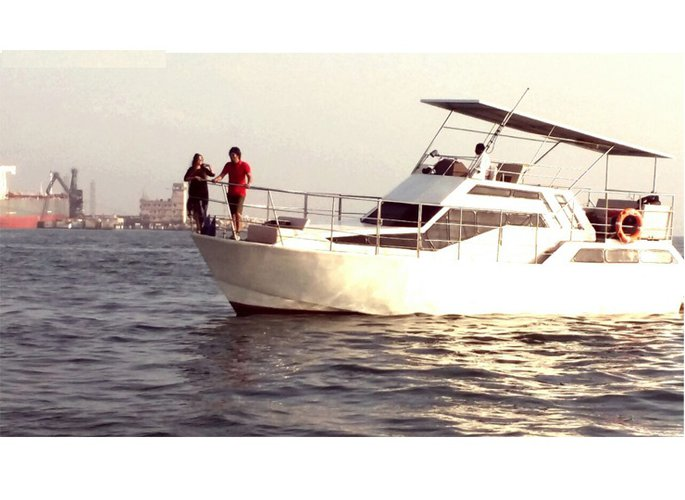 Experience boating at its best on a this motor boat.