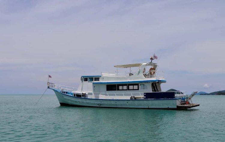 Trawler boat rental in Phuket, Thailand