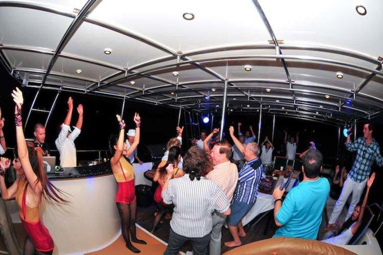 Mega yacht boat for rent in Pattaya