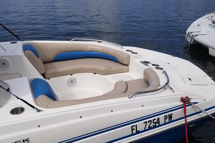 Deck boat boat rental in Sunny Isles Beach, FL