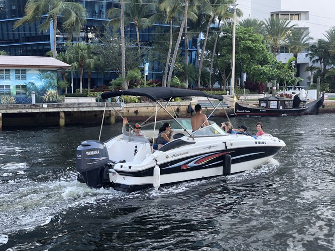 Boat for rent Hurricane 22.0 feet in 10 South New River Dr East Ft Lauderdale 33301, FL