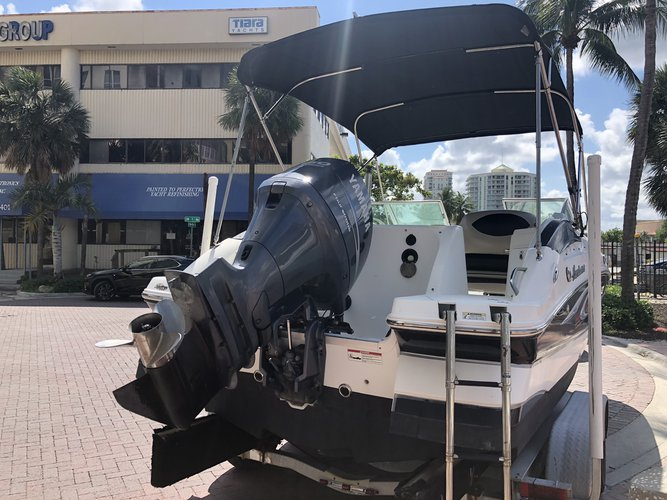 Boating is fun with a Deck boat in Fort Lauderdale