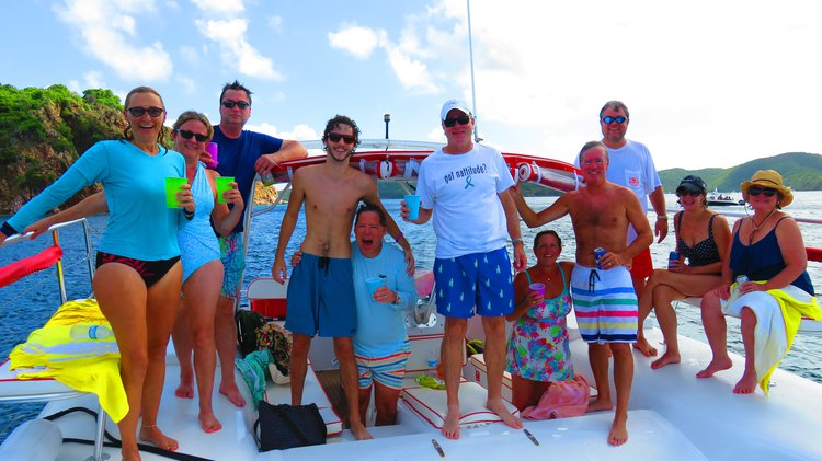 Boating is fun with a Catamaran in St. Thomas