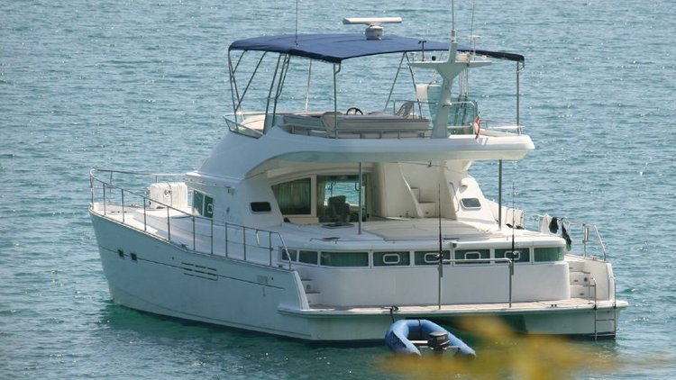 This 44.0' Lagoon cand take up to 30 passengers around Marina At Keppel Bay