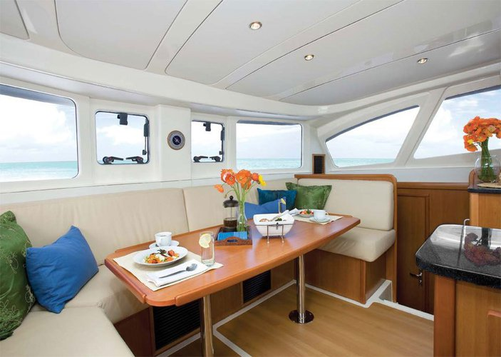 Discover Sentosa surroundings on this 39 Leopard boat