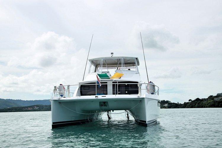 Catamaran boat rental in Boat Lagoon Phuket, Thailand