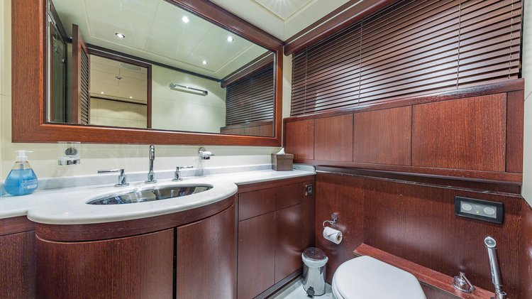 Motor yacht boat for rent in Aventura