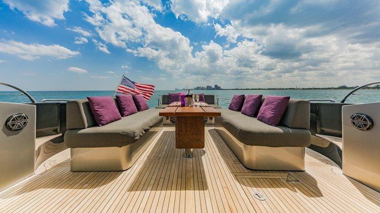Motor yacht boat rental in Turnberry Isle Marina Yacht Club, FL