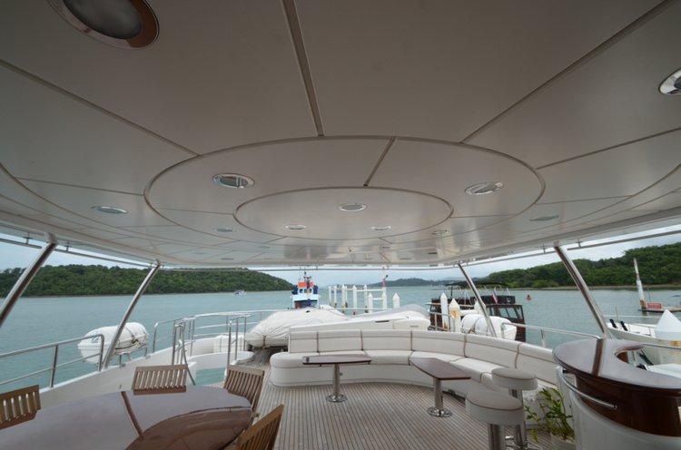 Mega yacht boat for rent in Phuket