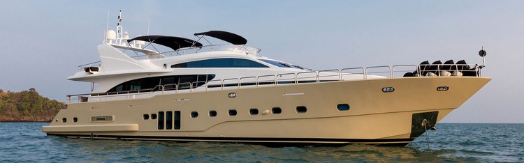 Boating is fun with a Mega yacht in Phuket