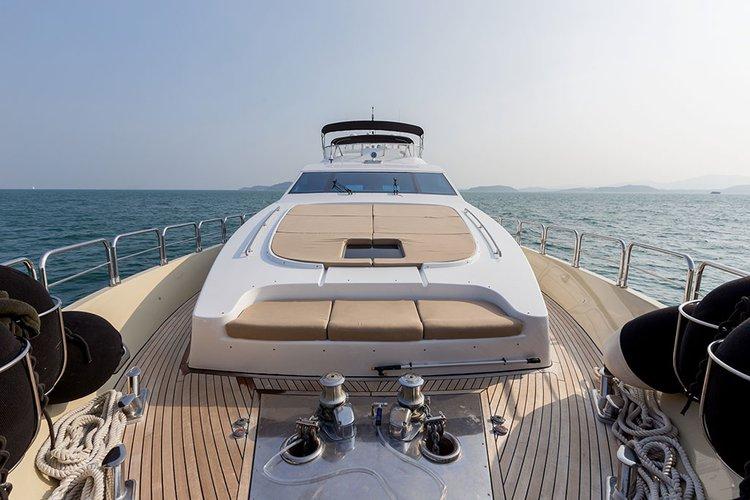 Mega yacht boat for rent in Phuket