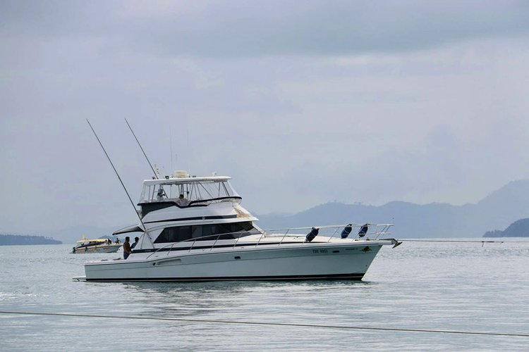 Discover Phuket in style boating on this fishing boat rental