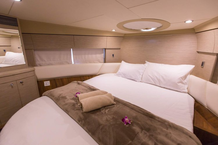 Discover Phuket surroundings on this P42 Princess boat