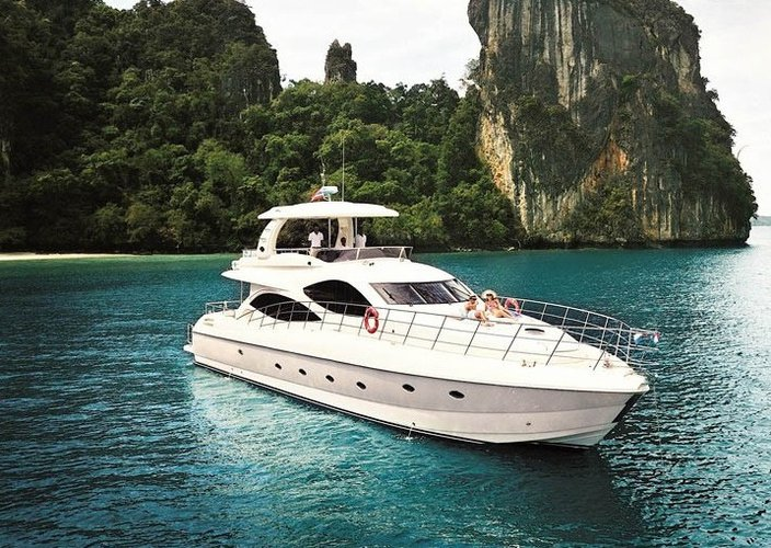 Experience boating at its best on a this motor boat charter