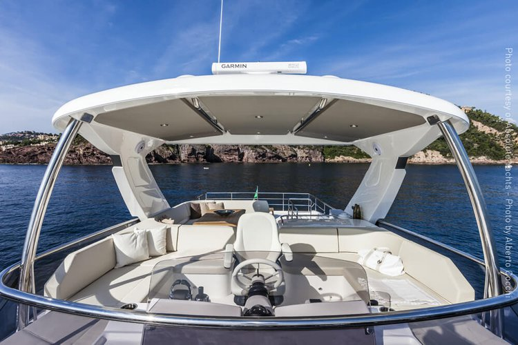 Discover Rogoznica surroundings on this 58 Navetta boat