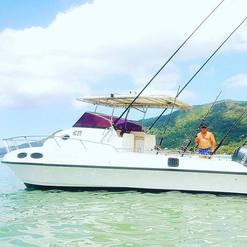 Catamaran boat rental in Bel-Ombre, Seychelles