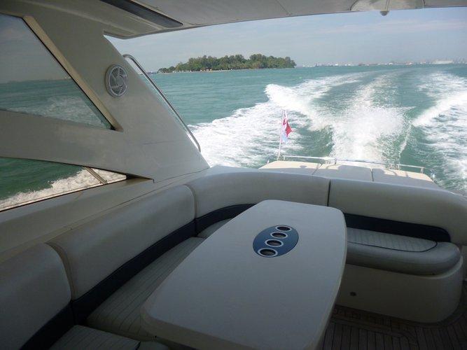 Motor yacht boat rental in Marina At Keppel Bay, Singapore