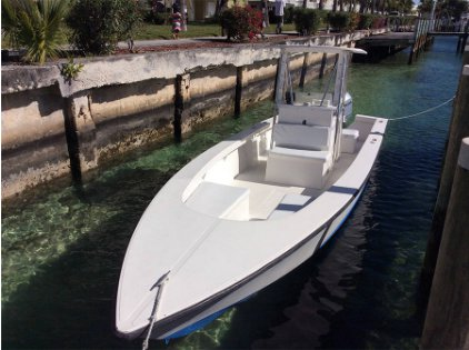 Charter this amazing motor boat in Bahamas