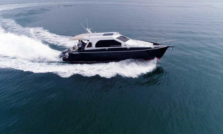 Boating is fun with a Motor boat in Phuket