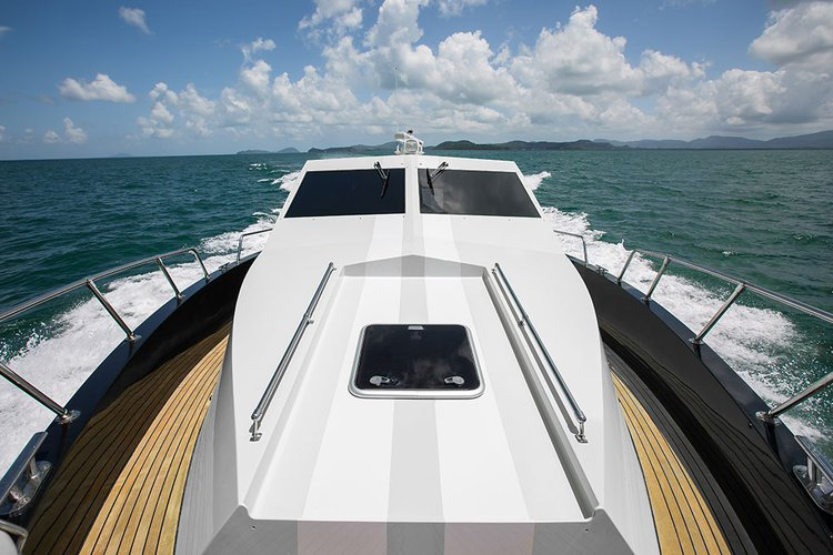Up to 9 persons can enjoy a ride on this Motor boat boat
