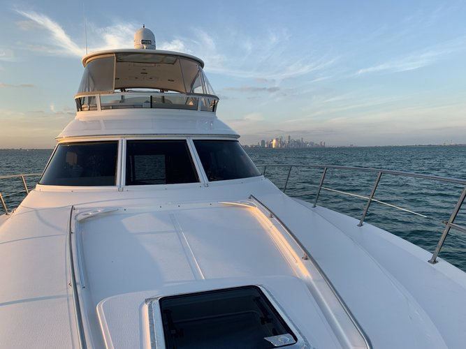 Flybridge boat rental in Dinner Key Marina, FL