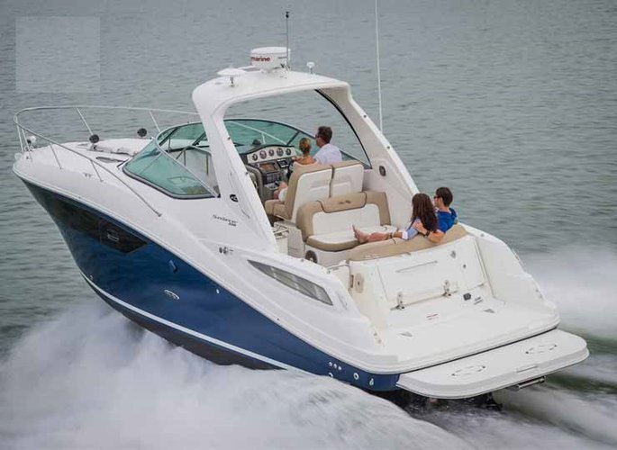 Boat for rent Searay 38.0 feet in Panjim, India