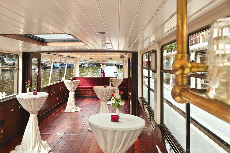 Discover Amsterdam surroundings on this Custom Custom boat