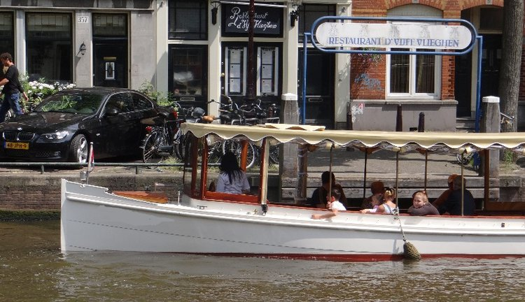 Custom's 111.0 feet in Amsterdam