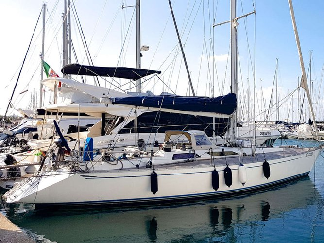 Experience Punta Ala on board this elegant sailboat