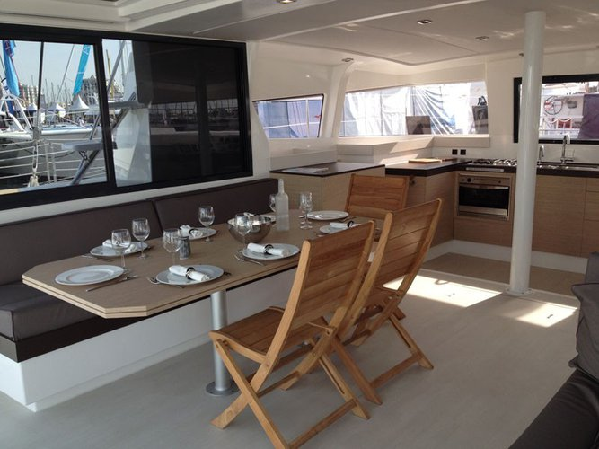 Discover Le Marin surroundings on this 4.3 Bali boat